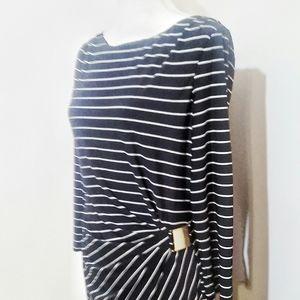 Tahari Dresses - ♡ Tahari Striped Flattering Fit Dress